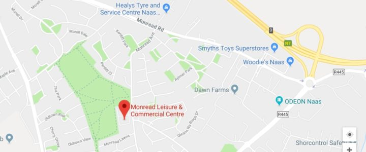 Convenient New Practice Location on Monread Avenue, Naas, Kildare & just 20 minutes from M50 Dublin