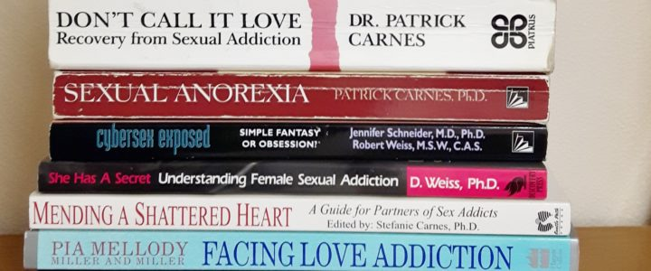 Sexual Addiction Recovery & Self Help Books for Addicts & Partners