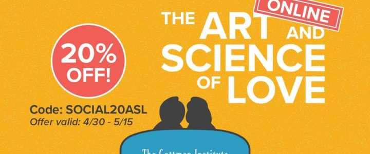 20% OFF Couples Workshop Online – The Art and Science of Love Online