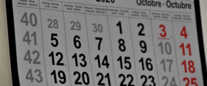 October Appointment Updates – Telephone & Online Psychotherapy Daily