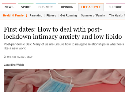 How to deal with post-lockdown intimacy anxiety & low libido – The Irish Times